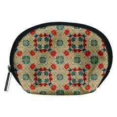 Traditional Scandinavian Pattern Accessory Pouches (medium)