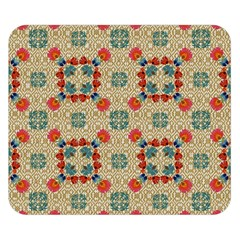 Traditional Scandinavian Pattern Double Sided Flano Blanket (small)