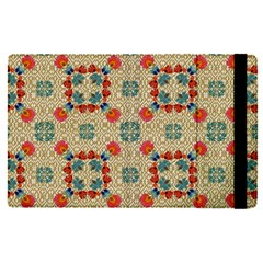 Traditional Scandinavian Pattern Apple Ipad Pro 12 9   Flip Case