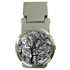 Tree Fractal Money Clip Watches
