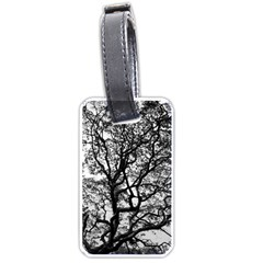 Tree Fractal Luggage Tags (one Side)
