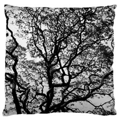 Tree Fractal Large Cushion Case (one Side)