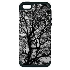 Tree Fractal Apple Iphone 5 Hardshell Case (pc+silicone)
