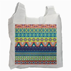 Tribal Print Recycle Bag (one Side)
