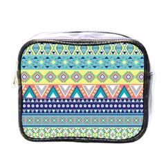 Tribal Print Mini Toiletries Bags