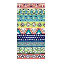 Tribal Print Shower Curtain 36  X 72  (stall)