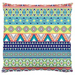 Tribal Print Large Cushion Case (two Sides)