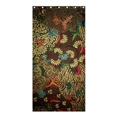 Traditional Batik Art Pattern Shower Curtain 36  X 72  (stall)