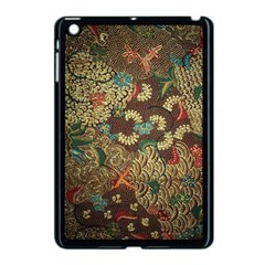 Traditional Batik Art Pattern Apple Ipad Mini Case (black)