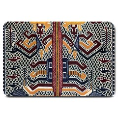 Traditional Batik Indonesia Pattern Large Doormat