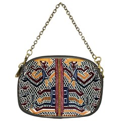 Traditional Batik Indonesia Pattern Chain Purses (one Side)