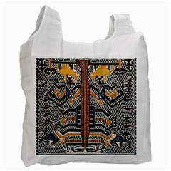 Traditional Batik Indonesia Pattern Recycle Bag (one Side)