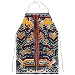 Traditional Batik Indonesia Pattern Full Print Aprons