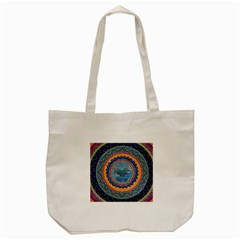 Traditional Pakistani Art Tote Bag (cream)