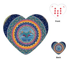 Traditional Pakistani Art Playing Cards (heart)