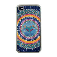 Traditional Pakistani Art Apple Iphone 4 Case (clear)