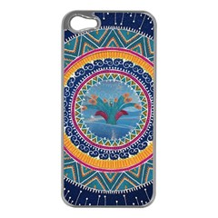 Traditional Pakistani Art Apple Iphone 5 Case (silver)