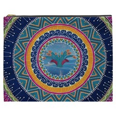 Traditional Pakistani Art Cosmetic Bag (xxxl)