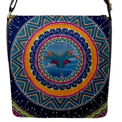 Traditional Pakistani Art Flap Messenger Bag (s)