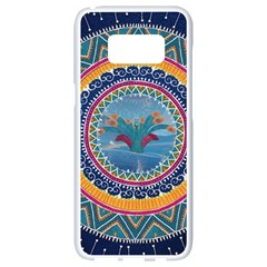 Traditional Pakistani Art Samsung Galaxy S8 White Seamless Case