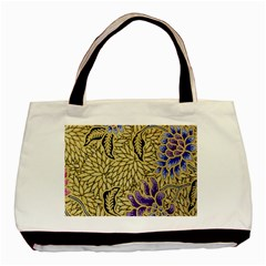 Traditional Art Batik Pattern Basic Tote Bag