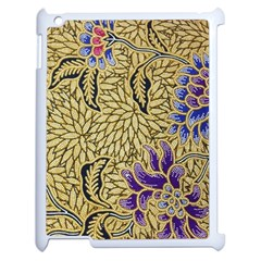 Traditional Art Batik Pattern Apple Ipad 2 Case (white)