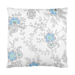 Traditional Art Batik Flower Pattern Standard Cushion Case (one Side)