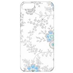 Traditional Art Batik Flower Pattern Apple Iphone 5 Classic Hardshell Case