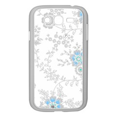 Traditional Art Batik Flower Pattern Samsung Galaxy Grand Duos I9082 Case (white)