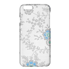 Traditional Art Batik Flower Pattern Apple Iphone 6 Plus/6s Plus Hardshell Case
