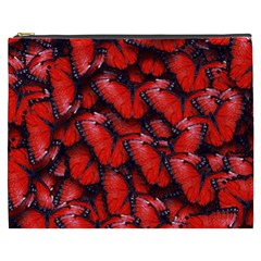 The Red Butterflies Sticking Together In The Nature Cosmetic Bag (xxxl)
