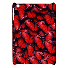 The Red Butterflies Sticking Together In The Nature Apple Ipad Mini Hardshell Case
