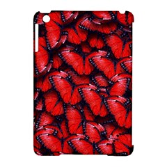The Red Butterflies Sticking Together In The Nature Apple Ipad Mini Hardshell Case (compatible With Smart Cover)