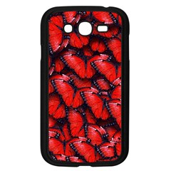 The Red Butterflies Sticking Together In The Nature Samsung Galaxy Grand Duos I9082 Case (black)