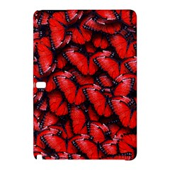 The Red Butterflies Sticking Together In The Nature Samsung Galaxy Tab Pro 10 1 Hardshell Case