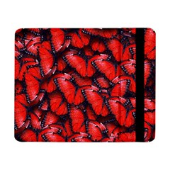 The Red Butterflies Sticking Together In The Nature Samsung Galaxy Tab Pro 8 4  Flip Case