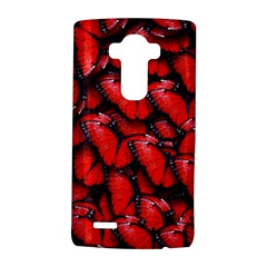The Red Butterflies Sticking Together In The Nature Lg G4 Hardshell Case