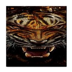 Tiger Face Tile Coasters