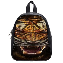 Tiger Face School Bags (small)