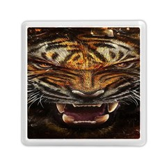 Tiger Face Memory Card Reader (square)