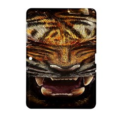 Tiger Face Samsung Galaxy Tab 2 (10 1 ) P5100 Hardshell Case