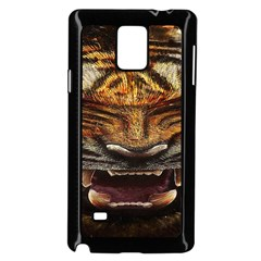 Tiger Face Samsung Galaxy Note 4 Case (black)