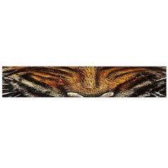 Tiger Face Flano Scarf (large)
