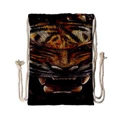 Tiger Face Drawstring Bag (small)