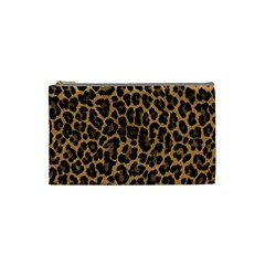 Tiger Skin Art Pattern Cosmetic Bag (small)