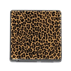 Tiger Skin Art Pattern Memory Card Reader (square)