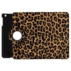 Tiger Skin Art Pattern Apple Ipad Mini Flip 360 Case