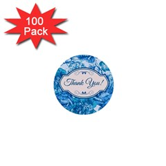 Thank You 1  Mini Buttons (100 Pack)