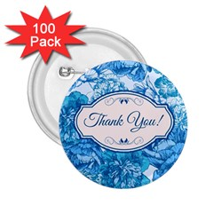 Thank You 2 25  Buttons (100 Pack)