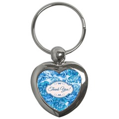 Thank You Key Chains (heart)